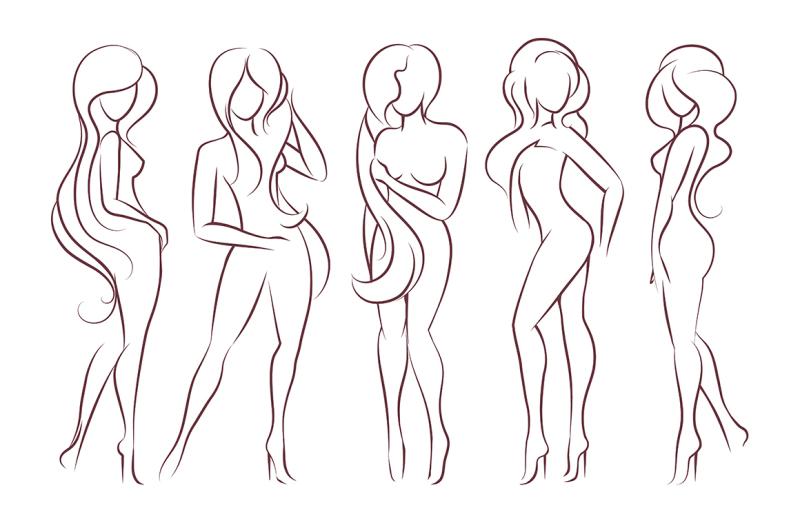 set-of-female-figures