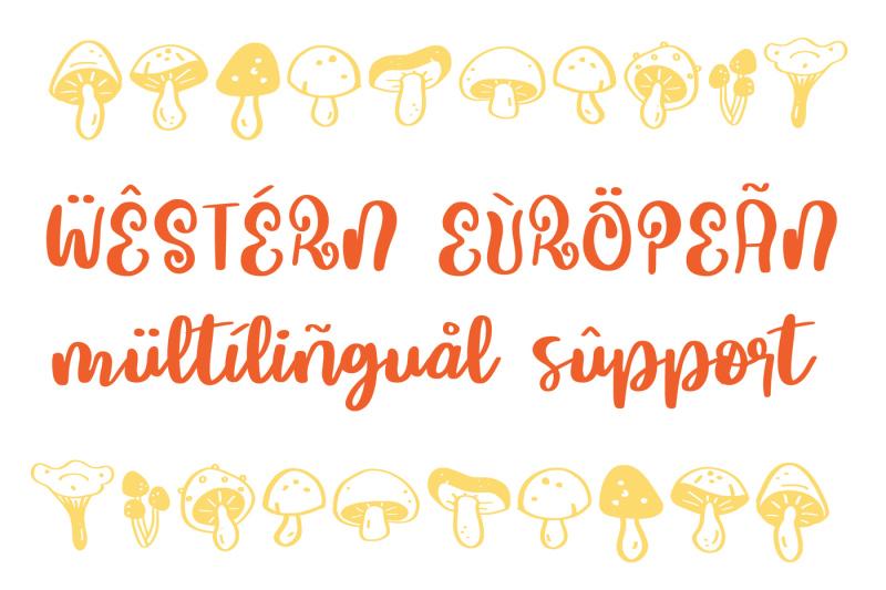mushroom-growing-script-font
