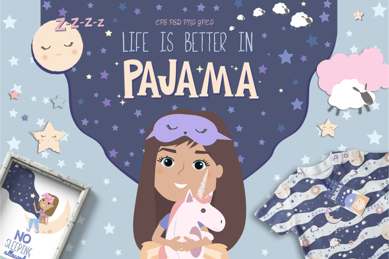 life-is-better-in-pajama