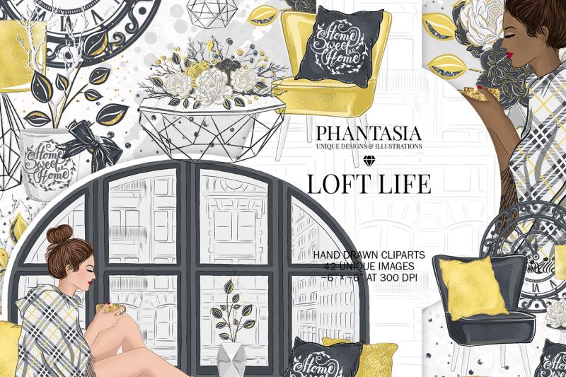 loft-life-clipart