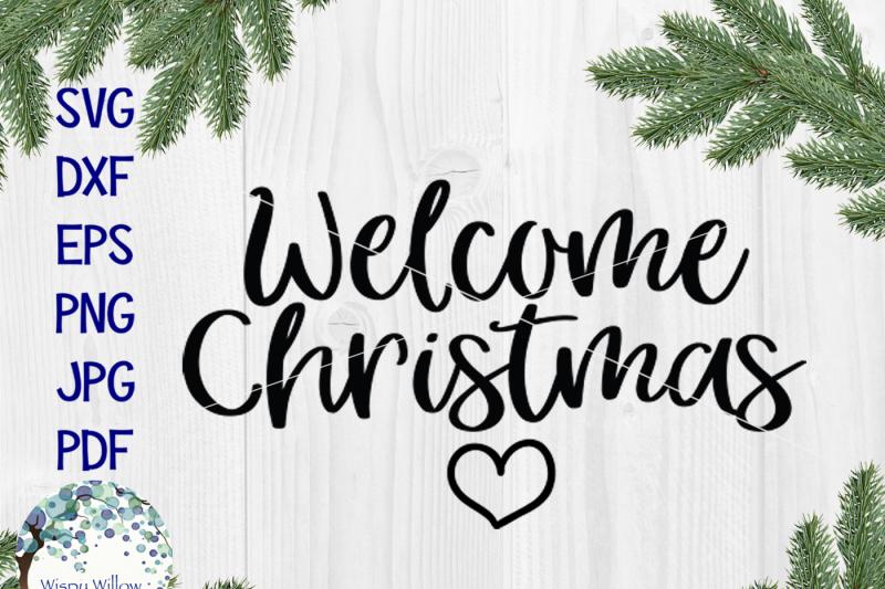 welcome-christmas-svg