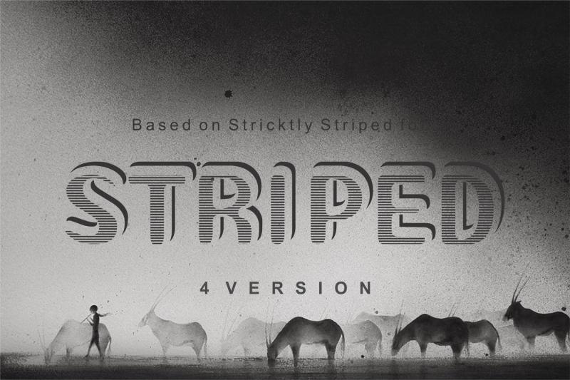 striped-stricktly-striped-font-based