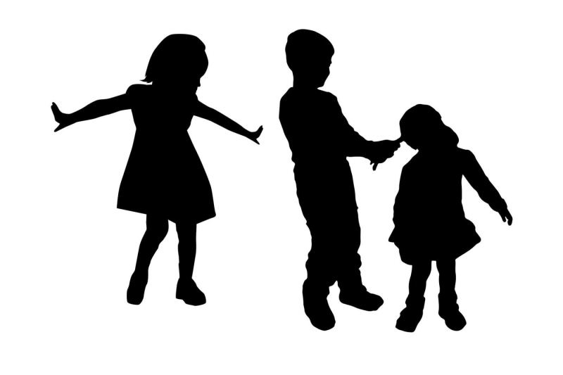 children-silhouette