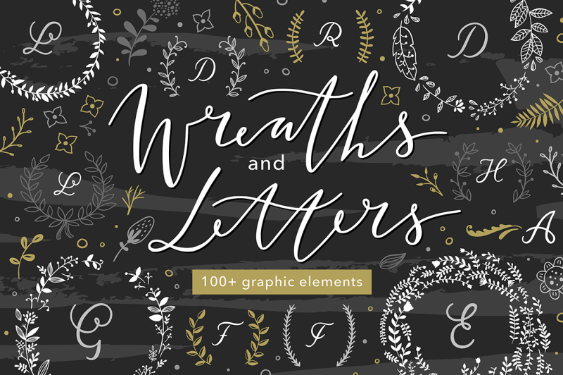 wreaths-and-letters
