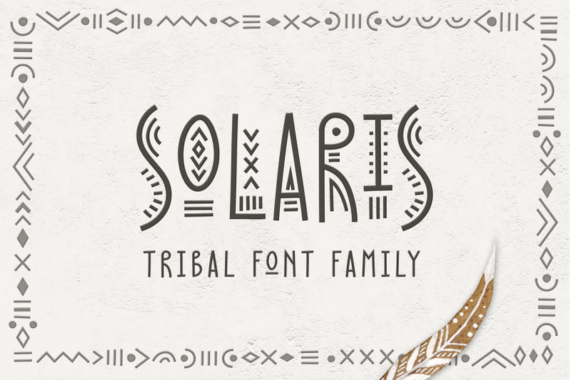 solaris-tribal-font-family