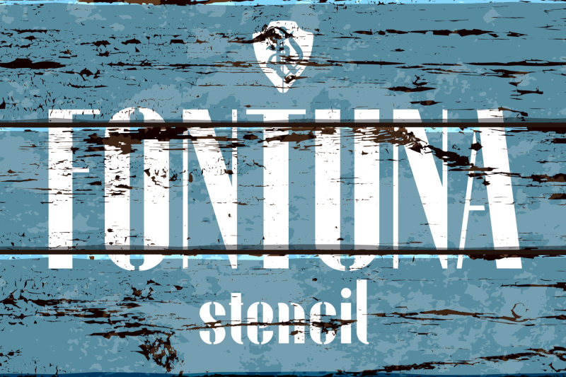 fontuna-stencil