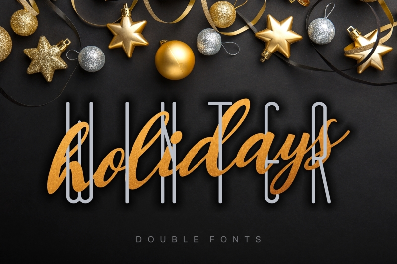 winter-holidays-combined-double-fonts