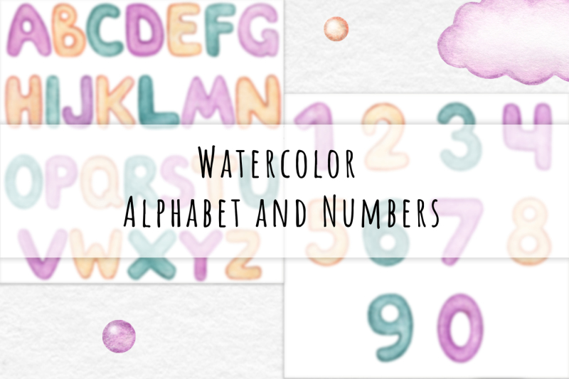 watercolor-alphabet-and-numbers