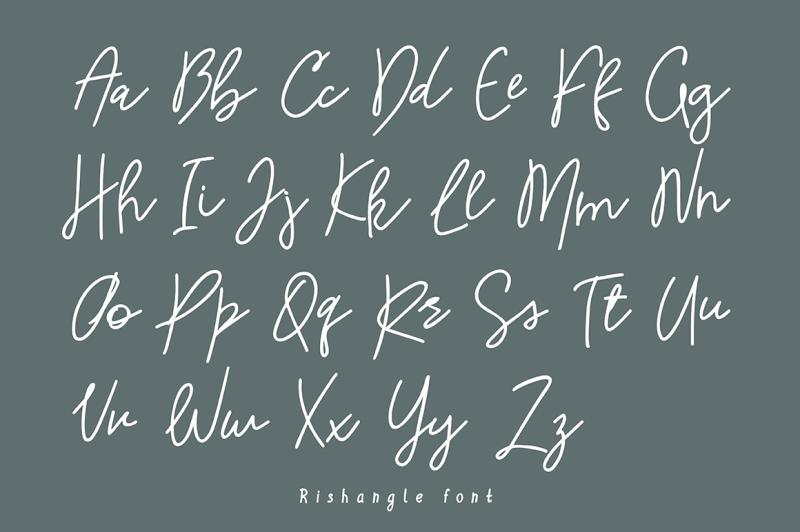 rishangle-handwritten-script