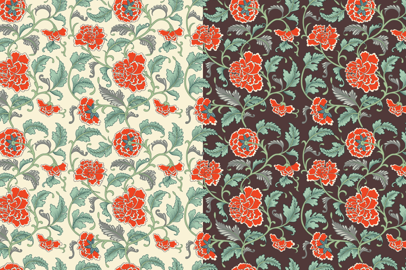 floral-chinese-patterns-and-cards