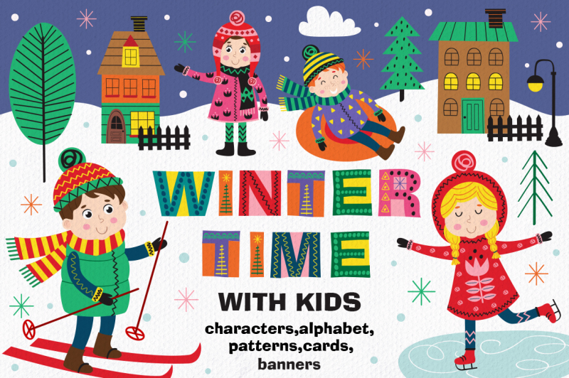 winter-time-with-kids