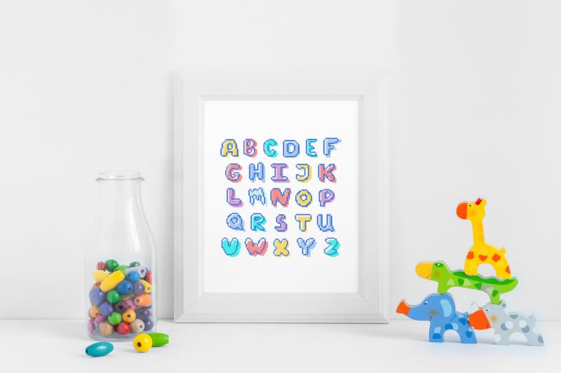 pretty-weirdo-pixel-display-font