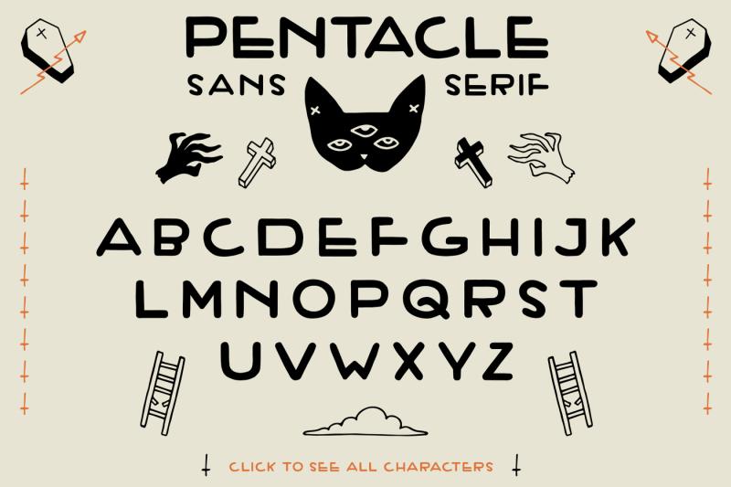 pentacle-font