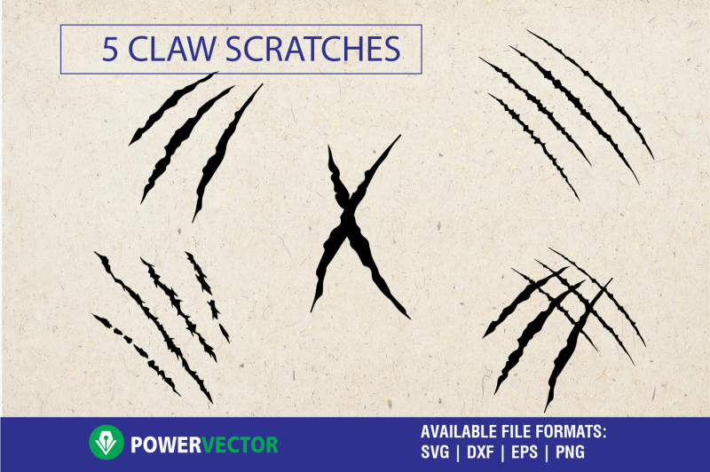 claw-scratches-svg-cut-files-for-cricut-silhouette