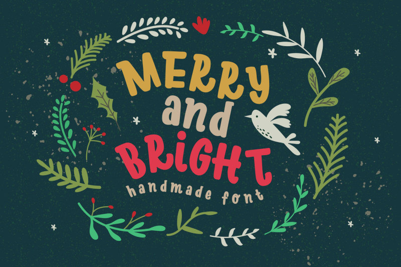 merry-bright-typeface