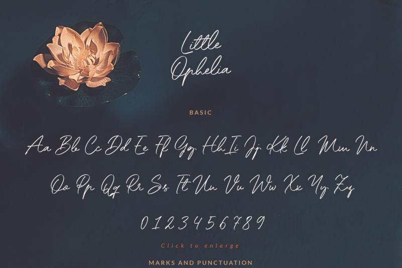 little-ophelia-handwritten-font