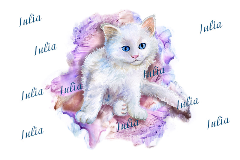 cats-and-kittens-watercolor