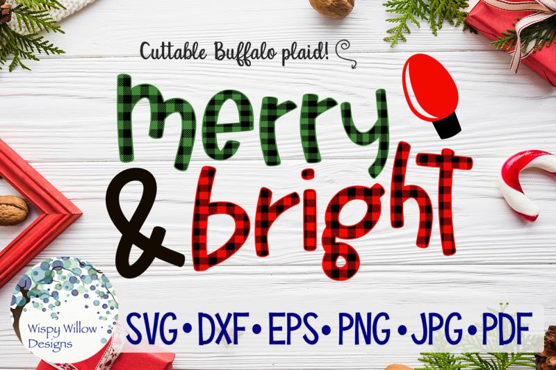 merry-and-bright-buffalo-plaid-christmas-svg