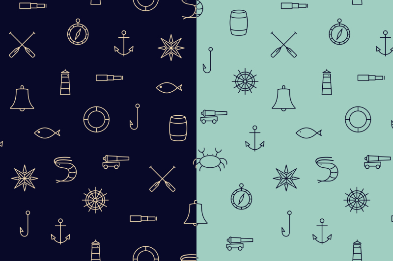 15-ship-and-sea-line-icons-patterns