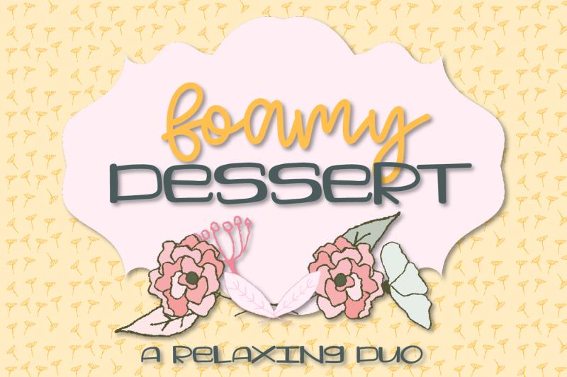 foamy-dessert-a-font-pair