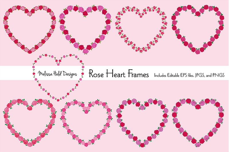 rose-heart-frames