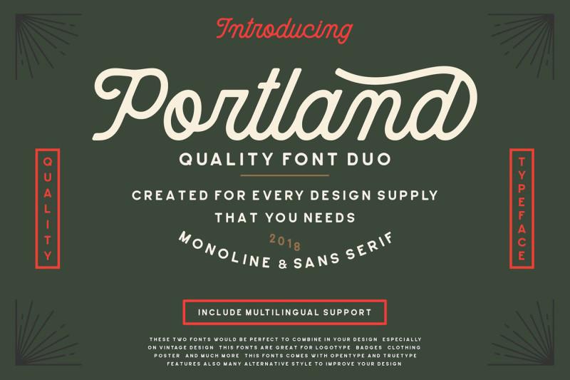 portland-font-duo