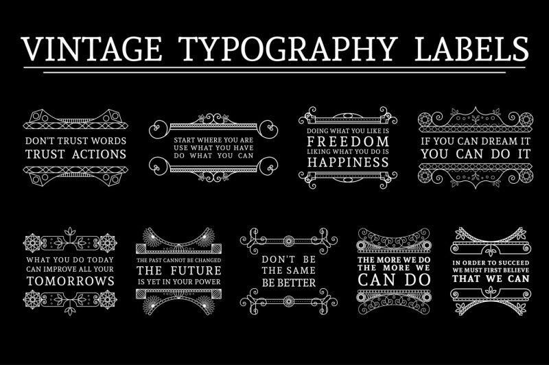 9-vintage-typography-labels
