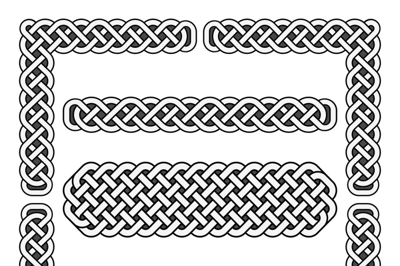 celtic-knots-vector-medieval-borders-and-corner-elements