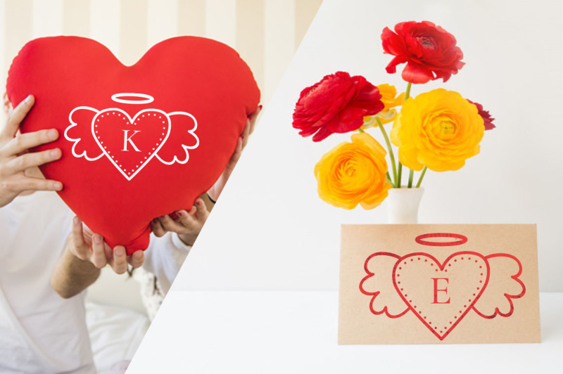 winged-heart-dingbats-font-for-valentine-day