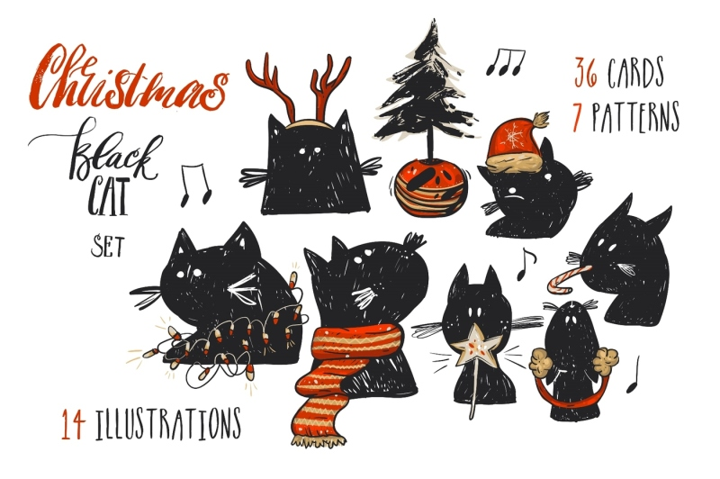 christmas-black-cat