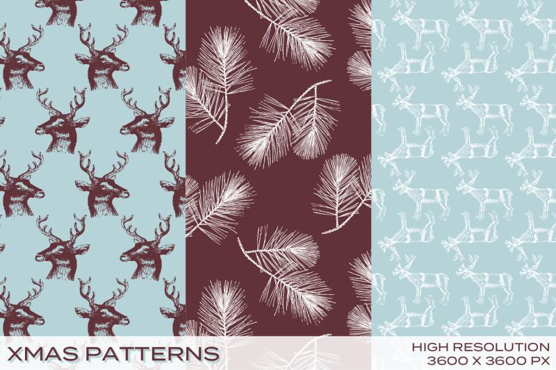 xmas-patterns