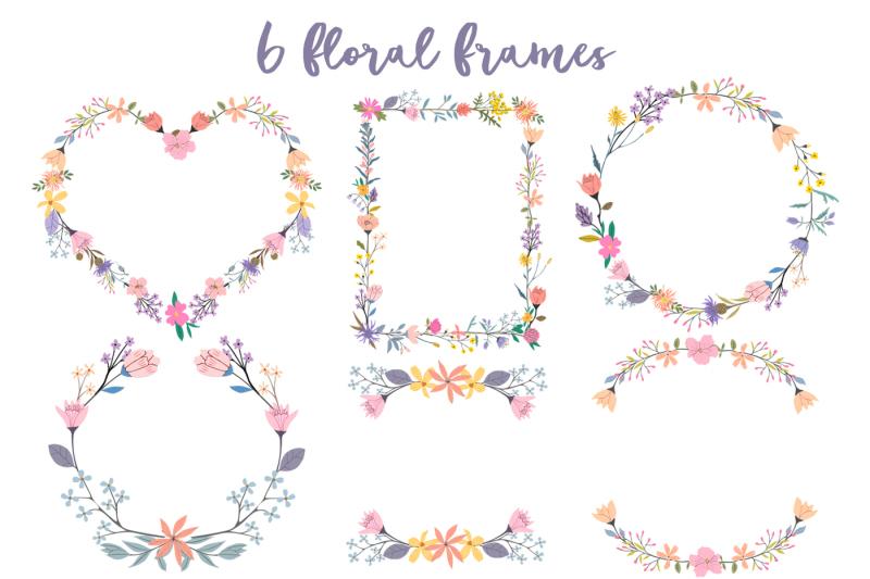 lallia-floral-clip-art-set