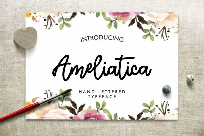 ameliatica-beauty-font