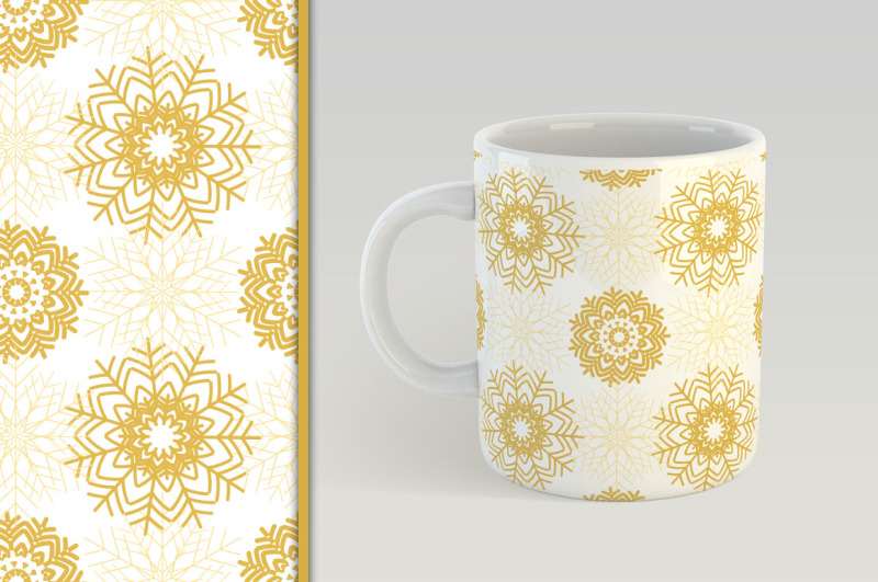 golden-christmas-seamless-pattern