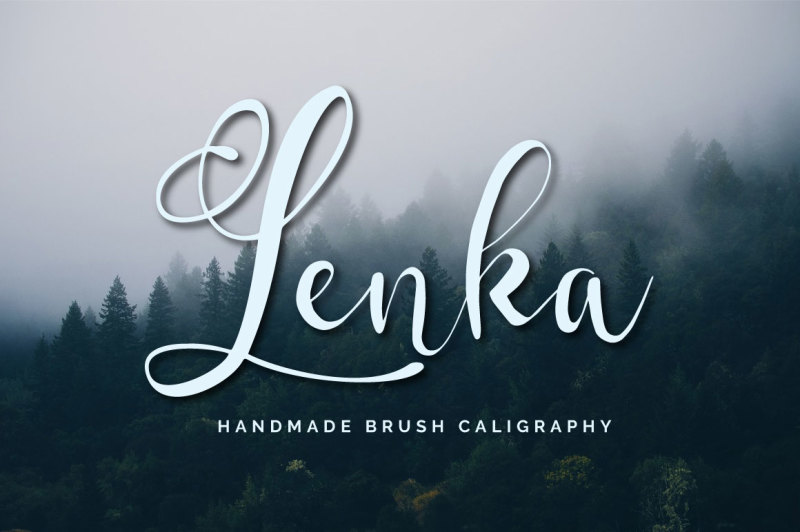 lenka-brush-caligraphy