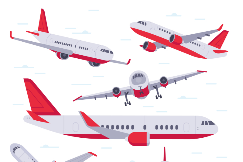 flat-airplane-aircraft-flight-travel-aviation-wings-and-landing-airp