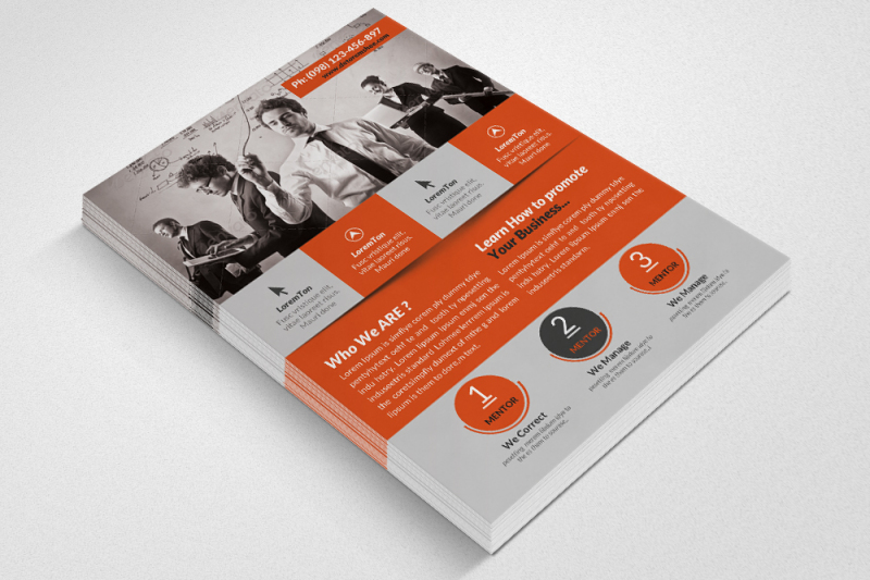 human-resources-management-consultant-flyer