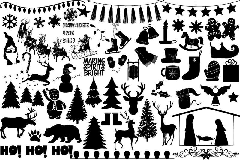 christmas-silhouettes-ai-eps-png