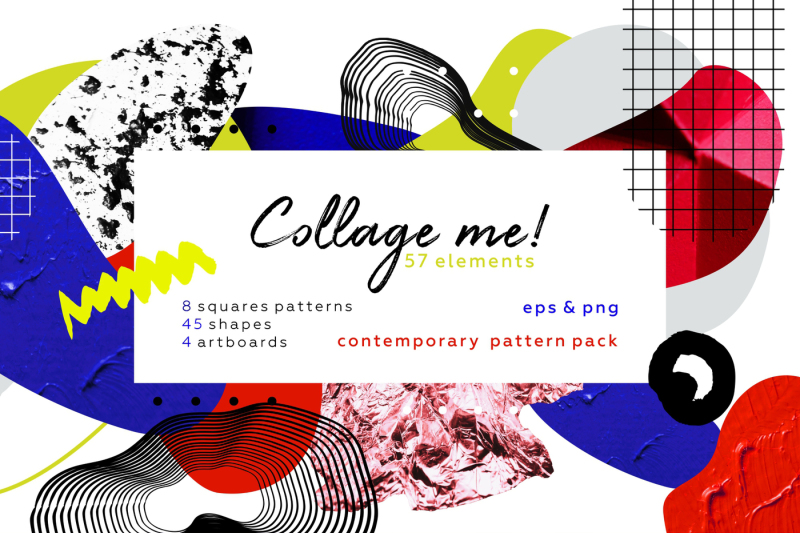 collage-me-abstract-and-modern-objects-set