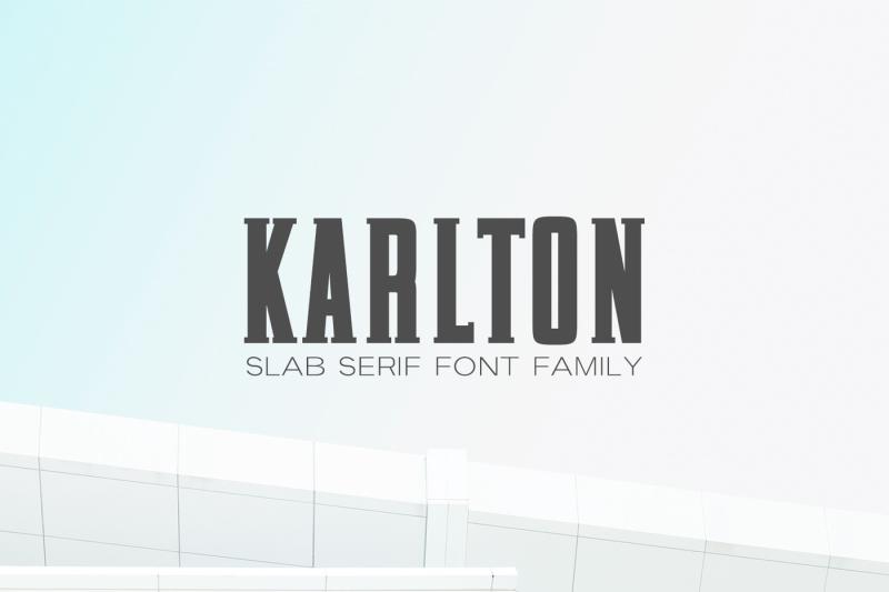 karlton-slab-serif-font-family