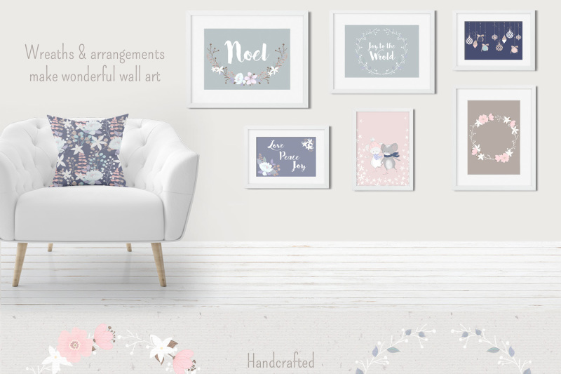 Winter Whimsy Cute Clipart Collection By Pretty Little Lines