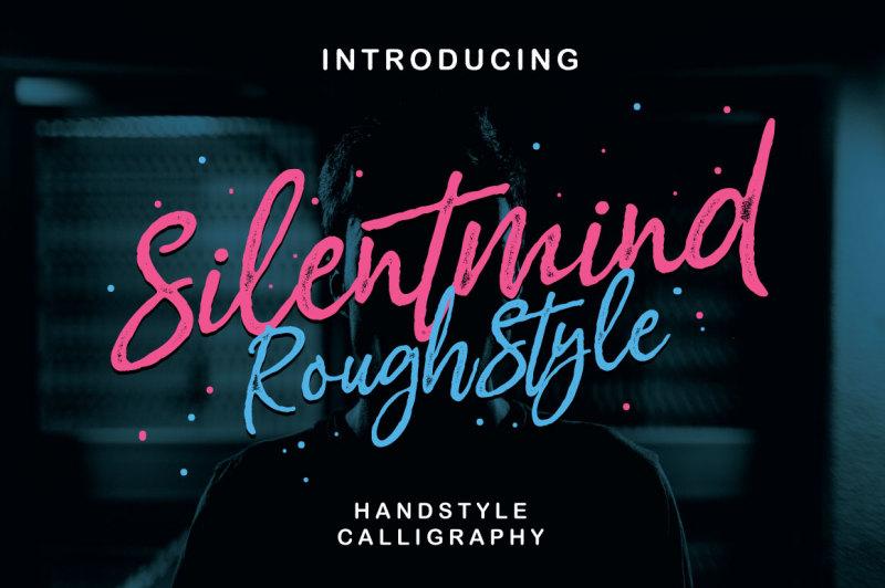silentmind-rough-typeface