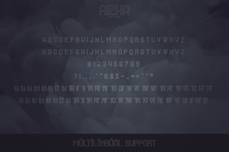 alpha-display-font-4-styles