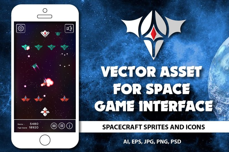 asset-for-space-game-interface