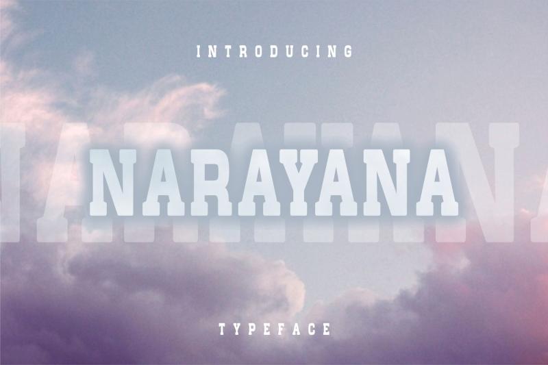 narayana-typeface
