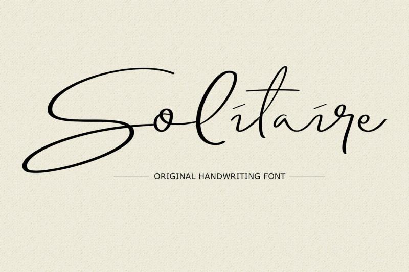 solitaire-font