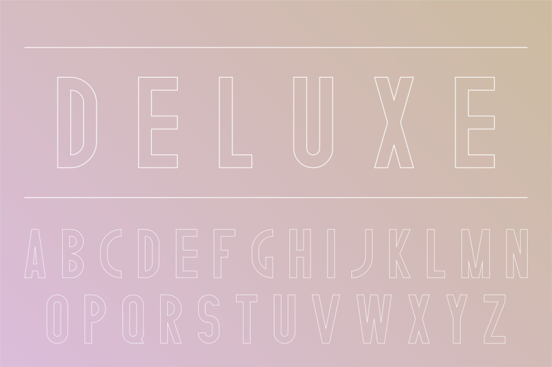 stylish-english-alphabet