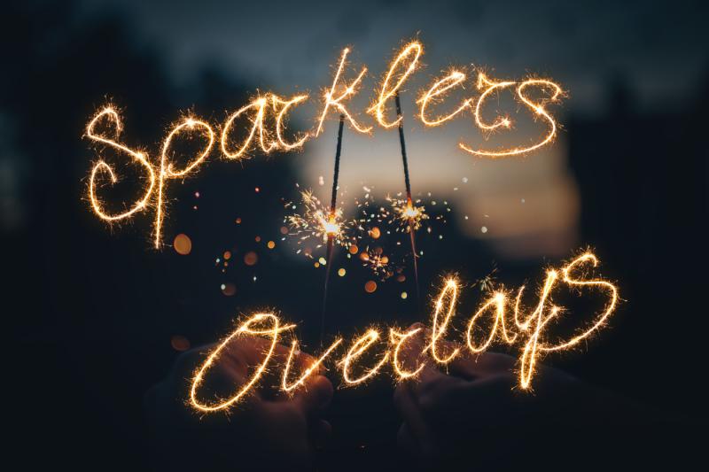 sparklers-photo-overlays