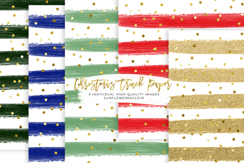 christmas-paper-pack-stripes-christmas-digital-paper