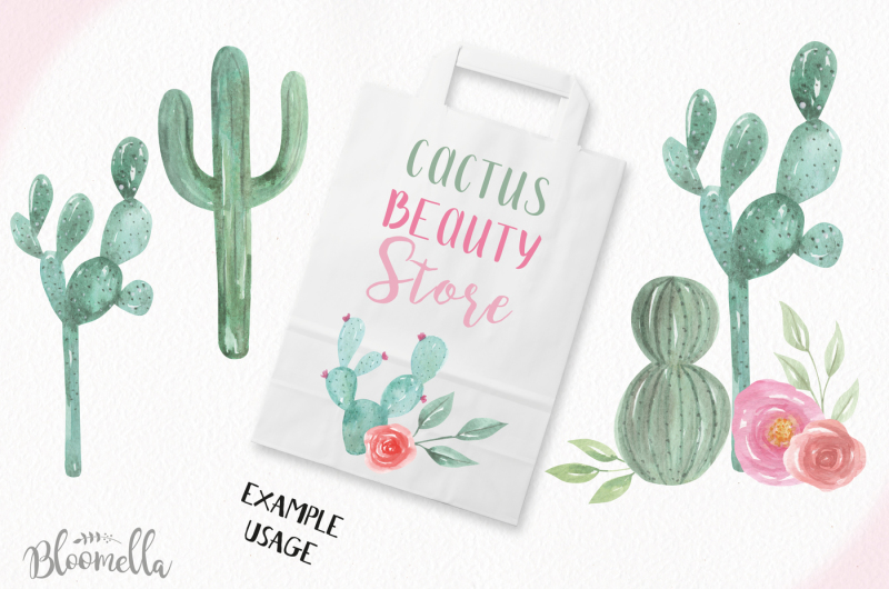 watercolor-create-your-own-cactus-pots-succulents-elements-creator